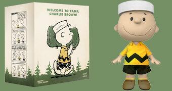 Boneco Charlie Brown Super-Size com 35,5 cm de Altura (Peanuts)
