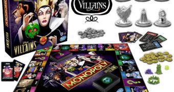 Jogo Monopoly Vilãs e Vilões Disney