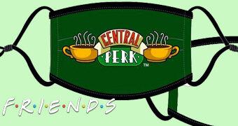 Máscaras de Tecido da Série Friends para Prevenção Contra o Covid-19