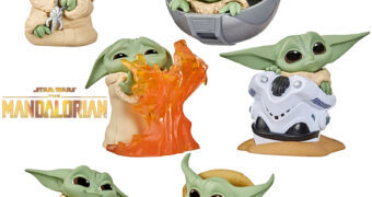 Mini-Figuras Baby Yoda (The Child) Baby Bounties Wave 2