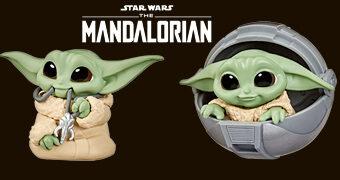 Mini-Figuras Baby Yoda (The Child) Baby Bounties Wave 2