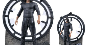 Brandon Lee como O Corvo (The Crow) – Estátua Diamond Gallery Diorama