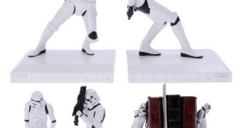 Apoios de Livros Star Wars Stormtrooper Bookends
