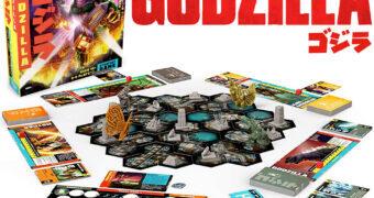 Jogo de Estratégia Godzilla Tokyo Clash da Funko