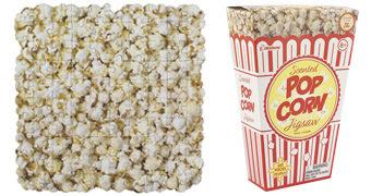 Quebra-Cabeça Popcorn Scented Puzzle com 100 Peças e Cheiro de Pipoca com Manteiga