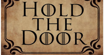 "Capacho Game of Thrones ""Hold The Door"""