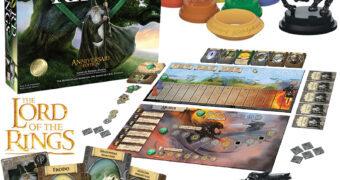 Jogo de Tabuleiro The Lord of the Rings: The Board Game – Nova Edição de 20 Anos de Aniversário (O Senhor dos Anéis)