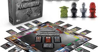 Jogo Monopoly da Série Star Wars The Mandalorian
