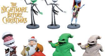 Mini-Figuras Deformadas D-Formz The Nightmare Before Christmas (O Estranho Mundo de Jack)