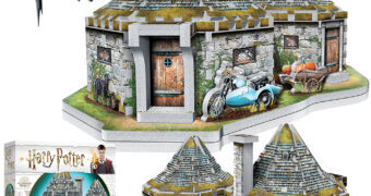 Quebra-Cabeça 3D Harry Potter: A Cabana de Rúbeo Hagrid