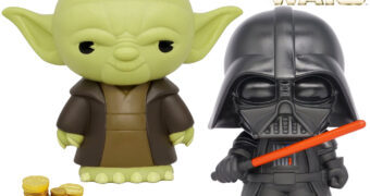 Cofres Monogram Star Wars: Yoda e Darth Vader