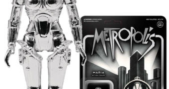 Maschinenmensch Maria ReAction (Silver Vac-Metal) – Action Figure do Filme Metropolis de Fritz Lang