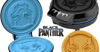 Máquina de Waffles Pantera Negra (Black Panther) Marvel