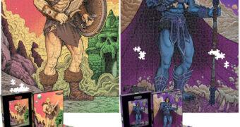 Quebra-Cabeças Mestres do Universo: He-Man e Skeletor