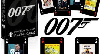 Baralho James Bond 007 Pôsteres dos Filmes