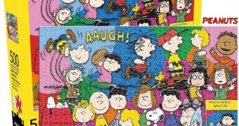 Quebra-Cabeça Peanuts Cast com o Elenco Principal das Tiras em Quadrinhos