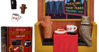 Ícones de Twin Peaks – Set Bobble Head com Pins