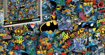 Quebra-Cabeça Batman Impossible Puzzle com 1.000 Peças