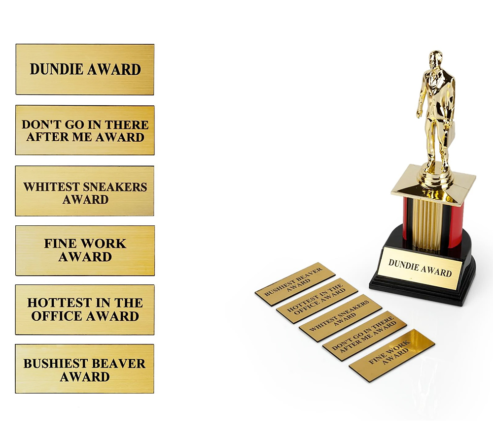 The Office Dundie Award Replica