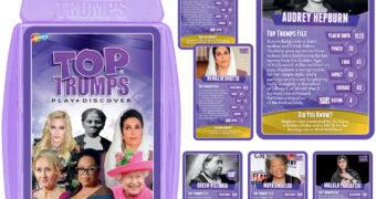 Super Trunfo Grandes Mulheres (Top Trumps Great Women)