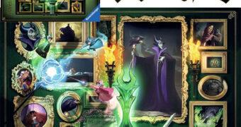 Quebra-Cabeça Maleficent (Malévola) Disney Villainous com 1.000 Peças (Ravensburger)