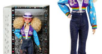 Boneca Elton John Barbie Signature
