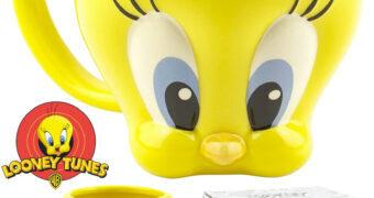 Caneca Piu-Piu (Tweety) 3D Looney Tunes