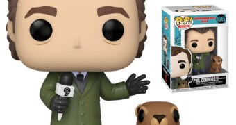 Bonecos Pop! O Feitiço do Tempo (Groundhog Day) com Phil Connors e a Marmota Punxsutawney Phil