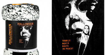 Cobertor de Lance do Filme Halloween VI – A Última Vingança (Michael Myers)