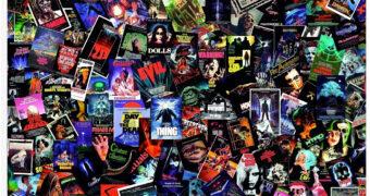 Quebra-Cabeça Filmes de Terror Clássicos com 1.000 Peças