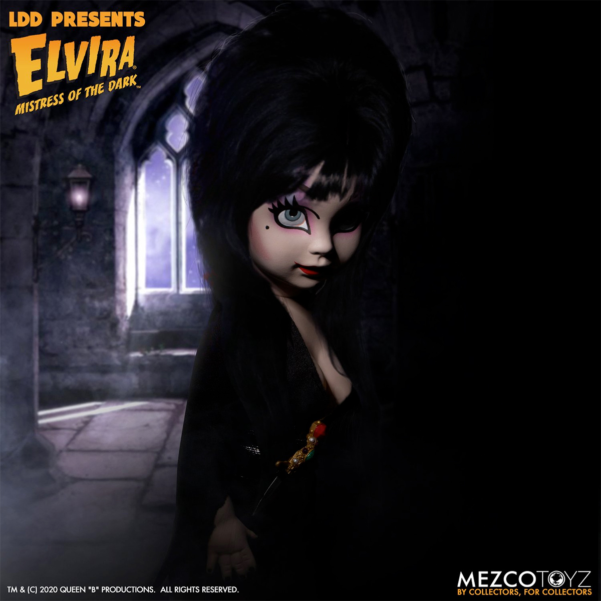 Boneca LDD Presents Elvira Mistress of the Dark
