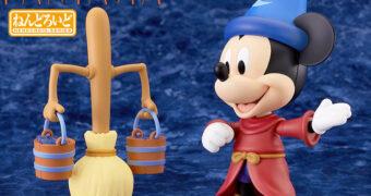Boneco Nendoroid Mickey Mouse Aprendiz de Feiticeiro em Fantasia da Disney