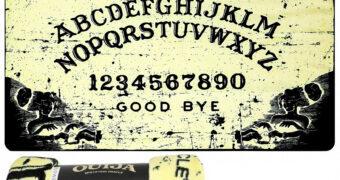 Cobertor de Lance Tábua Ouija