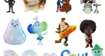 Mini-Figuras do Filme Soul: Uma Aventura com Alma da Pixar