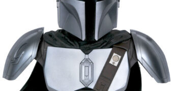 Busto The Mandalorian com Armadura de Beskar Legends in 3D em Escala 1:2 (Disney+ Star Wars)