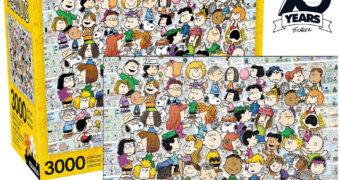 Quebra-Cabeça Peanuts com 3.000 Peças e Toda a Turma
