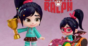 Boneca Nendoroid Vanellope do Filme Detona Ralph