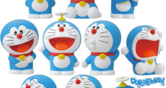Mini-Figuras do Gato Doraemon