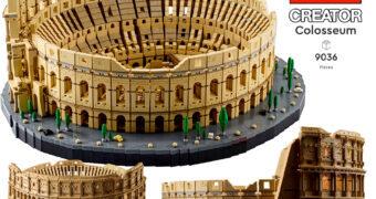 Coliseu de Roma LEGO Creator com 9.036 Peças