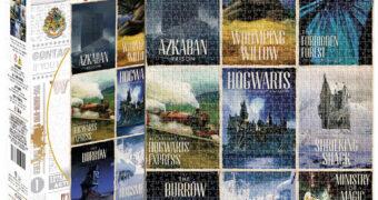 Quebra-Cabeça Harry Potter Cartões Postais