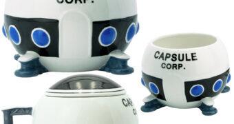 Caneca Dragon Ball Z: Nave Espacial Capsule Corp.