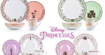 Conjuntos de Louça das Princesas Disney