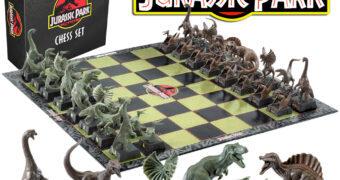 Xadrez Jurassic Park: O Parque dos Dinossauros