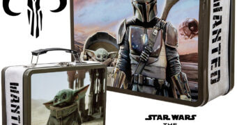 Lancheira de Lata Star Wars The Mandalorian