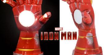 Luminária Manopla do Homem de Ferro