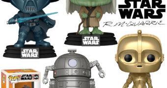 Bonecos Pop! Star Wars com Design Conceitual de Ralph McQuarrie