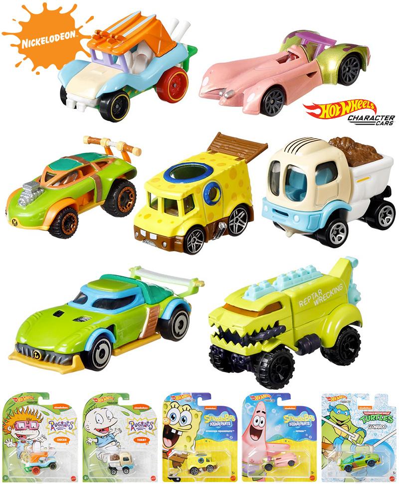 Carrinhos Hot Wheels Nickelodeon