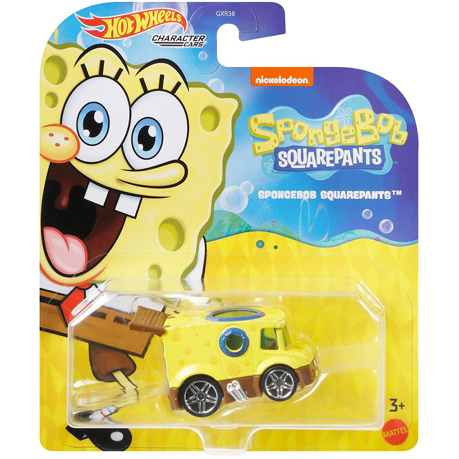Carrinhos Hot Wheels Nickelodeon