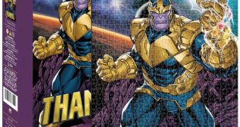 Quebra-Cabeça Thanos, o Titã Louco com 500 Peças