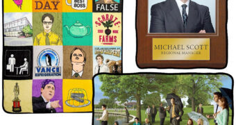 Cobertores The Office: Michael Scott, Sticker Bomb e Tarde de Domingo no Parque